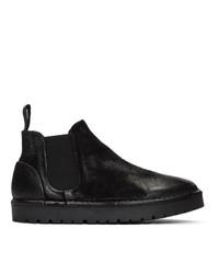 Marsèll Black Gomme Sancrispa Alta Beatles Chelsea Boots