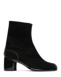 Maison Margiela Black Velvet I Boots
