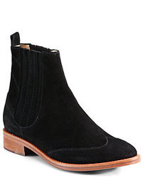 Opening Ceremony Chelsea Suede Ankle Boots