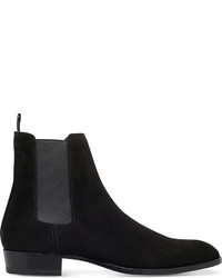 Saint Laurent Hedi Suede Chelsea Boots