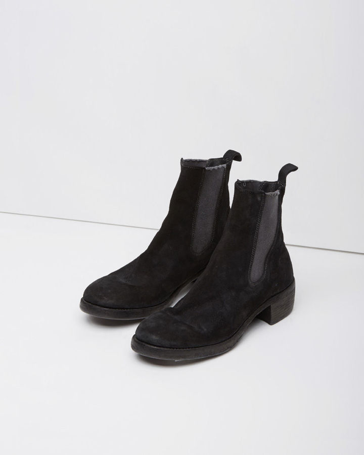 GUIDI Suede Chelsea Boots thiWMjjh