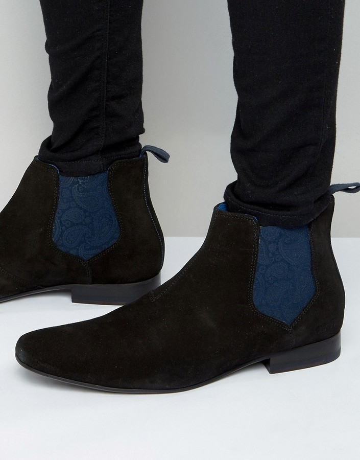 Ted Baker Hourb Suede Chelsea Boots