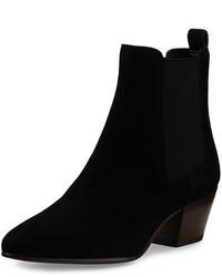 Reesa suede chelsea boot black medium 815404