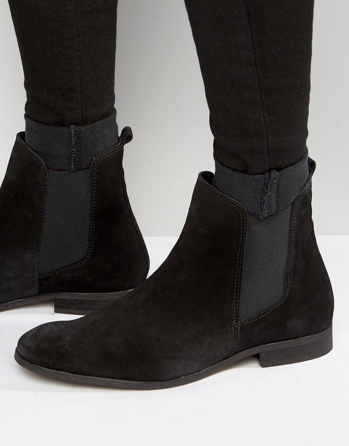 Zign Shoes Zign Suede Chelsea Boots