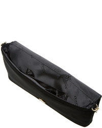Dune Bouncy Faux Suede Clutch