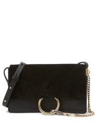 Chloé Chloe Faye Small Suede Leather Shoulder Bag