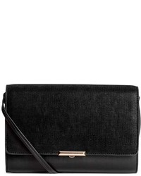 H&M Clutch Bag With Shoulder Strap