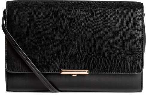 H&M Clutch Bag With Shoulder Strap