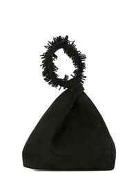 Elena Ghisellini Fringed Clutch Bag