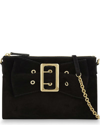 Burberry Peyton Suede Clutch