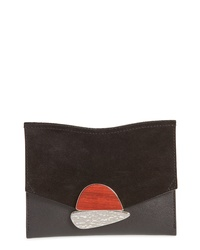 Proenza Schouler Small Calfskin Leather Clutch