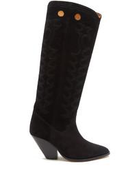 Etoile Isabel Marant Isabel Marant Toile Deyita Suede Western Boots