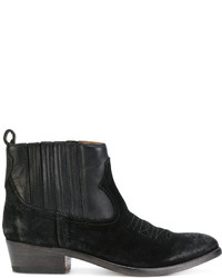 Golden Goose Deluxe Brand Suede Cowboy Style Boots