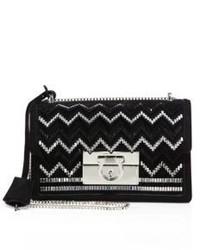 8532d37376 Women s Black Suede Crossbody Bags by Salvatore Ferragamo