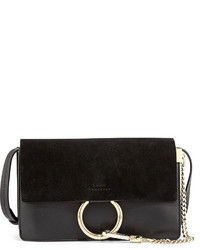 Chloé Chloe Faye Suede Flap Shoulder Bag