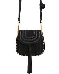 Chloé Mini Hudson Braided Suede Bag