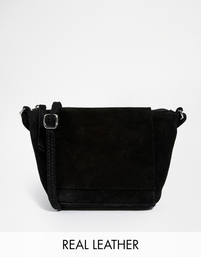 df1d097fc Asos Collection Festival Suede Cross Body Bag With Square Flap, $36 ...