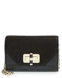 Diane von Furstenberg Micro Mini 440 Suede Leather Crossbody Bag