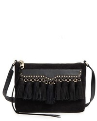 Rebecca Minkoff Multi Tassel Crossbody Bag Black