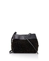 Kara Tie Crossbody Black