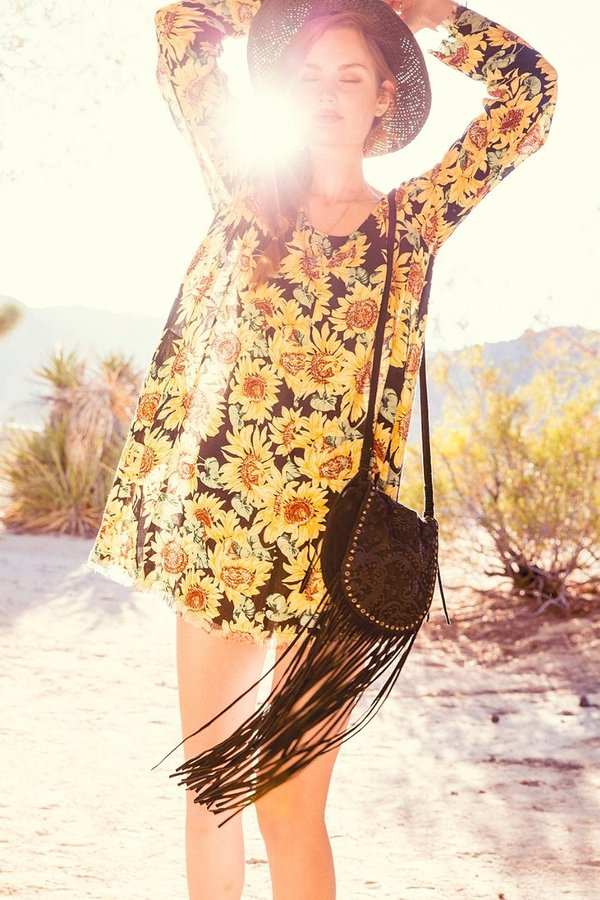 011021d001 ... Urban Outfitters Ecote Winding Road Suede Fringe Crossbody Bag ...