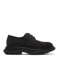 Alexander McQueen Black Galaxy Derbys