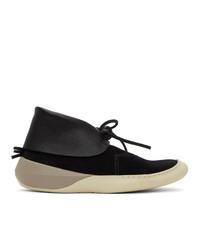 VISVIM Black Flynt Ii Folk Sneakers