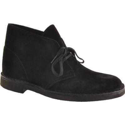 ab75ea35f0f8 ... Clarks Bushacre 2 Black Suede Boots