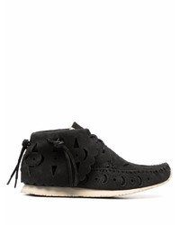 VISVIM Cut Out Moccasin Ankle Boots
