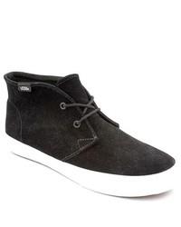 Vans Chukka Slim Black Suede Chukka Boots