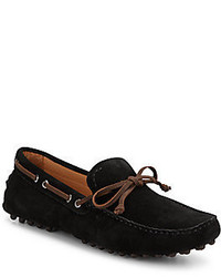 Saks Fifth Avenue Suede Boat Shoe Drivers