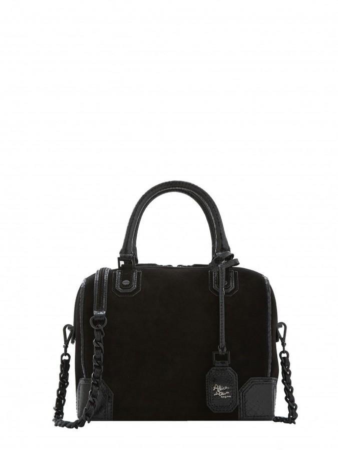 Alice Olivia Suede Bag
