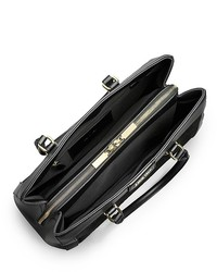 6e0be2ca8e Calvin Klein Brynn Suede Faux Leather Center Zip Carryall, $229 ...