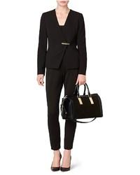 11e6051c2a Calvin Klein Brynn Suede Faux Leather Duffle Satchel, $199 | Calvin ...