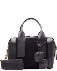 Pierre Hardy Duffle Small Leather And Suede Tote