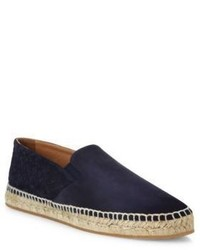 Bottega Veneta Two Textured Suede Espadrilles