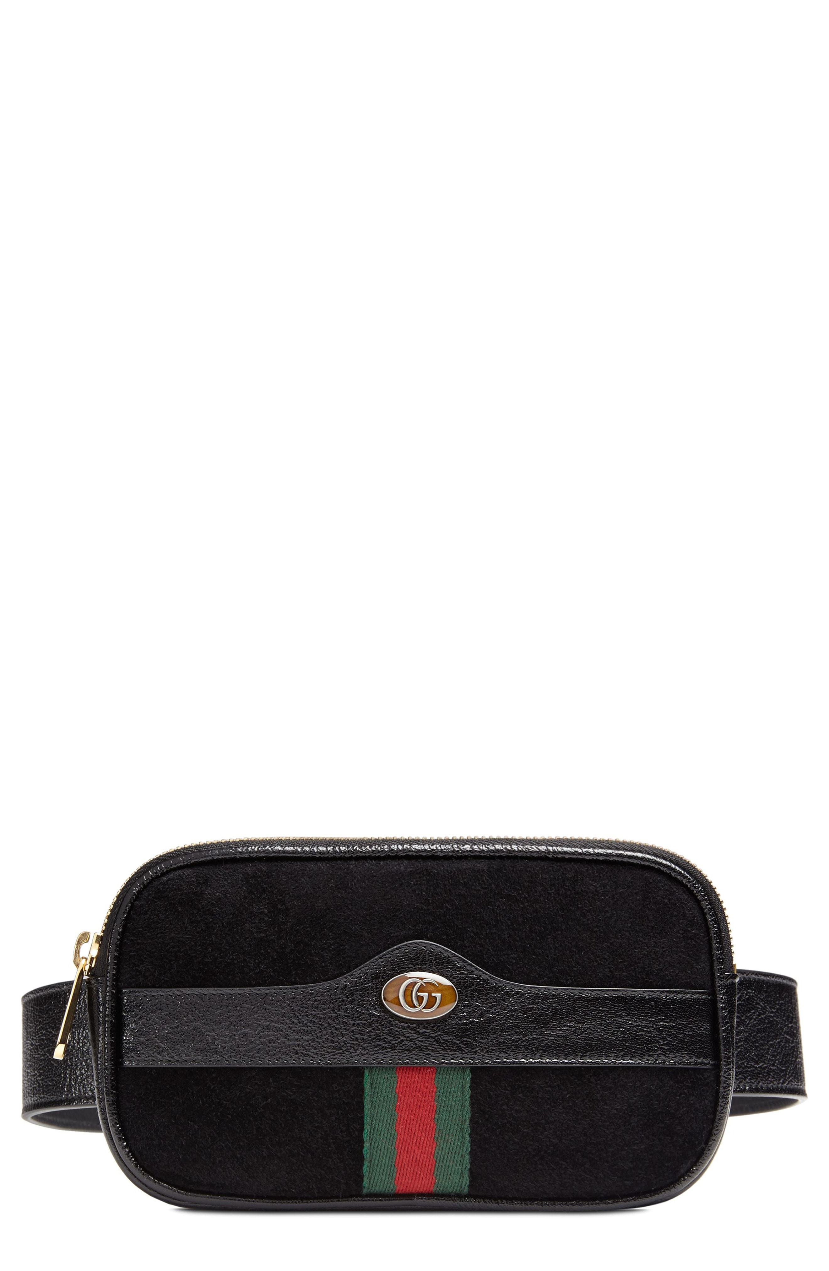 6a9e80e485683b Gucci Ophidia Suede Leather Belt Bag, $790   Nordstrom   Lookastic.com