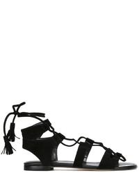 Stuart Weitzman Roman Flat Sandals