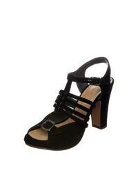 Chie Mihara Angela High Heeled Sandals Black
