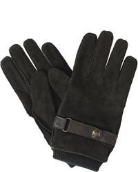 Dockers Cuffed Suede Gloves