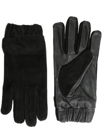 Scotch & Soda Glove In Suede And Leather Quality