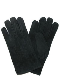 Levi's Levis Pig Suede Leather Winter Gloves With Shearling Lining Xlarge Black