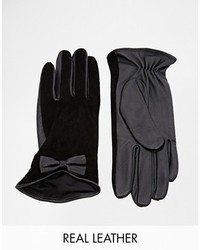 Oasis Suede Bow Glove
