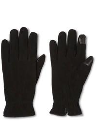 Merona Suede Dress Glove Black Tm