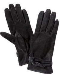 Merona Suede Love Knot Glove Black