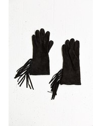 Urban Outfitters Suede Fringe Glove