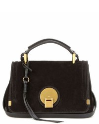 Chloé Indy Small Suede And Leather Shoulder Bag