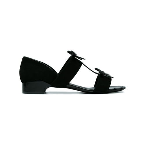 Fabrizio Viti City Bow Suede Sandals
