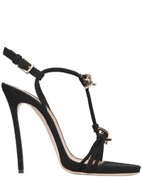 Dsquared2 120mm Barbed Wire Suede Sandals
