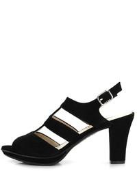 Gadea Suede High Heel Sandal